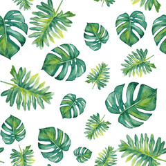 Hand-painted watercolor pattern