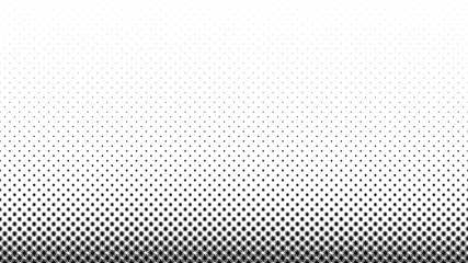 Abstract black halftone frame isolated on white background. Set of dotted borders. Vector illustration.