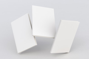 blank book cover flying