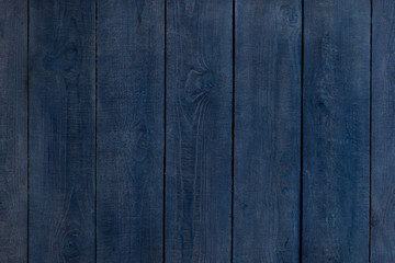 Blue wooden background. vertical