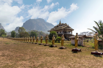 Tai Ta Ya Monastery or Sao Roi Ton Temple