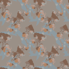 Abstract brown, beige and grey background as UFO camouflage