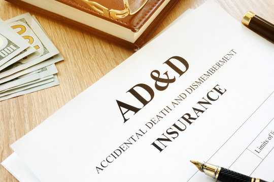 Accidental Death Benefit And Dismemberment ad&d insurance.