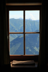 Window with Landscape View