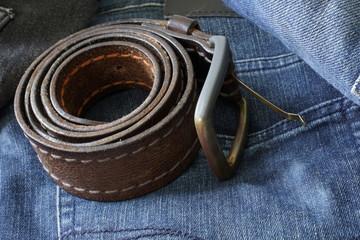 Belt on pants/jeans