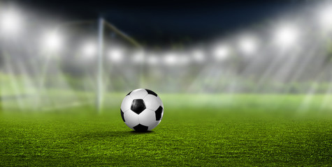 Fussball vor Tor