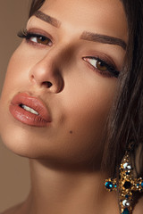 Beauitful Girl Macro closeup