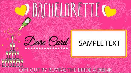 the bachelorette card