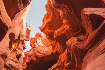 Foto op Canvas Antilope Unbelievable Antelope Canyon in the US