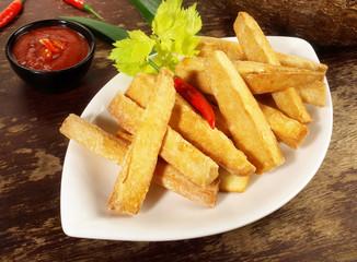 Maniok Sticks - fritiert