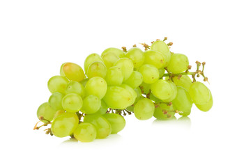 grape green isolated on white background