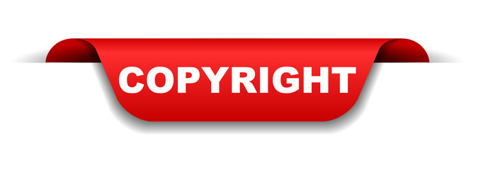 red banner copyright