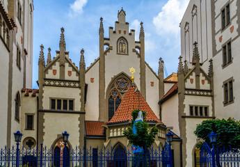 Maisel Synagogue in Prague, Czech Republic