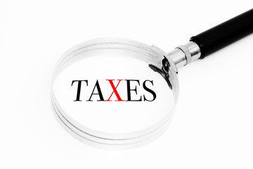 Taxes in the focus
