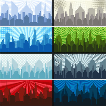 City slhouettes collection