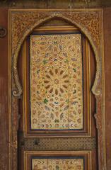 Traditional arabic door arch