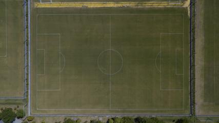 [空撮写真]サッカーグラウンド