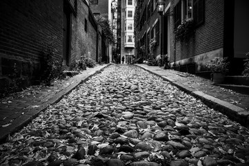 Black and White Street