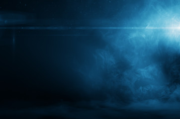 Foggy Blue Background