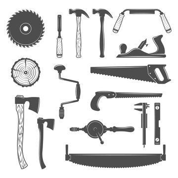 Carpentry, woodworkers, sawmill, lumberjack tools