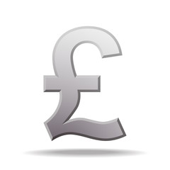 pound currency symbol.
