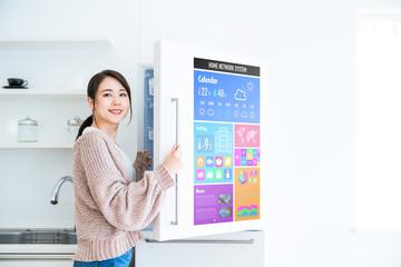 スマート冷蔵庫