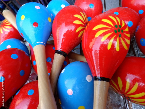 colorful maracas for music stock photo and royalty free images on