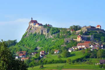 Old medieval fortification and castle Riegersburg, Austria