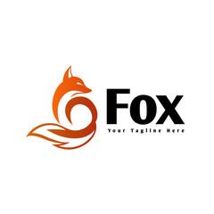 fox shadow art logo