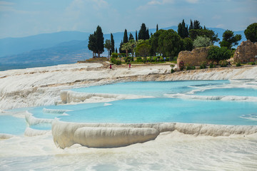 Pamukkale exotic pearl of Turkey