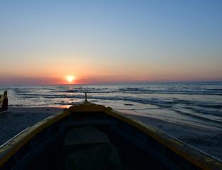Great sunset in Debki