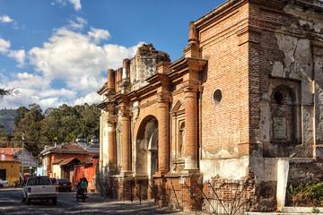 Antigua Guatemala, Ruinas de una Iglesia, Plazuela San Sebastián