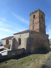 Atienza en Guadalajara. Pueblo historico de la comunidad autónoma de Castilla La Mancha (España)