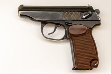 Russian-made pistol