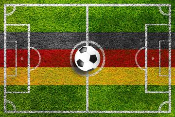 Fußball Spielfeld Hintergrund (rasen)