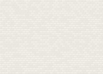 Vector seamless header bond white brick wall texture