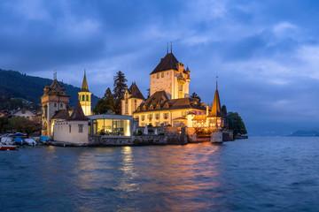 Schloss Chillon am Genfersee, Schweiz