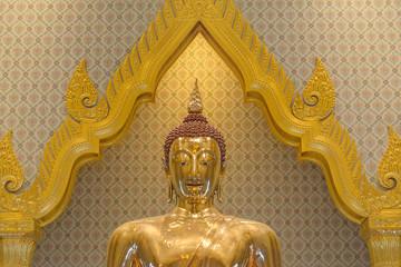 Wat Traimit, Temple of golden Buddha, Bangkok, Thailand