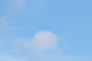 Images of Blue sky with white clouds. Can be used show your products for poster. Nature concept.