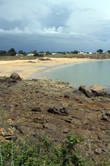 île d'yeu,baie de port joinville,plage