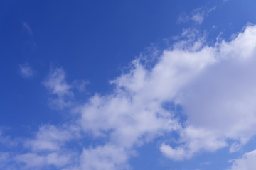 Sky and clouds, may be used as background .