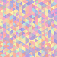Colorful abstract background made of triangle elements.