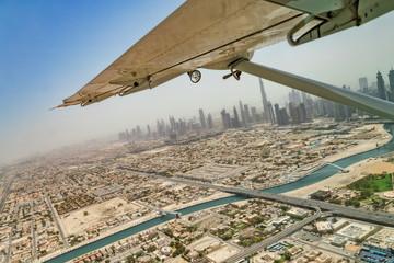 Fototapete - Aerial view of Dubai downtown