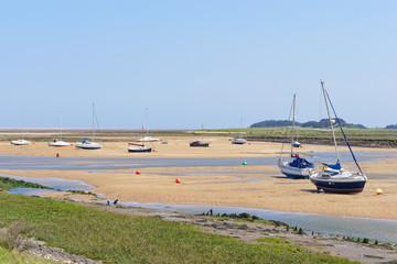Low tide in the estuary