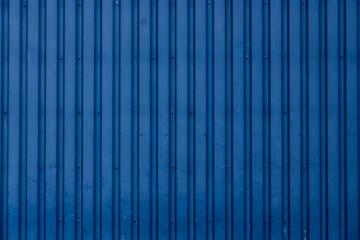 Wellblech Blau