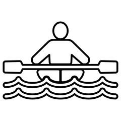 Icon - Kanufahren