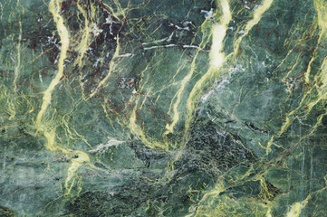 Dark green marble texture with light veins. Perfect natural pattern for background