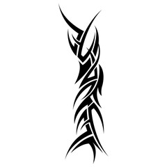 Tattoo tribal icon vector