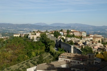 Perugia ペルージャ 古都の風景