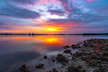Marco Island Sunset Reflection
